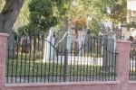 Tak wygląda nowy płot cmentarza w wędziagole
