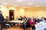Słuchacze akademii podczas wykładu dr. Henryka Malewskiego (Fot. Marian Grygorowicz)