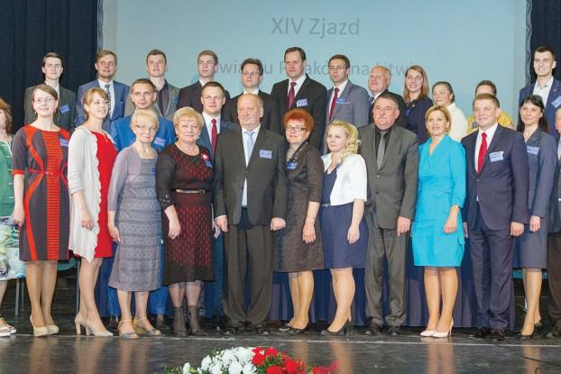 Nowa Rada ZPL w pełnym składzie (fot. Marian Paluszkiewicz)