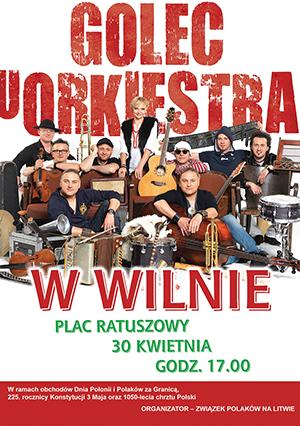 Golec uOrkiestra w Wilnie